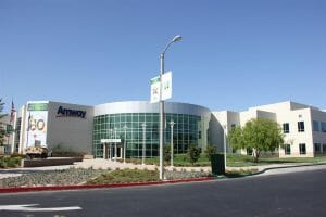 Exterior shot of the granulation plant that supports Nutrilite tablet manufacturing in Buena Park, California.