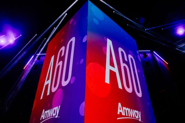 Amway shares plans for future growth during 60th anniversary celebration in Las Vegas